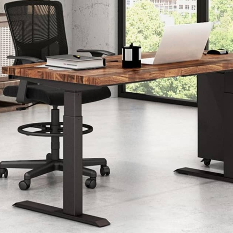 best sit to stand desk frame