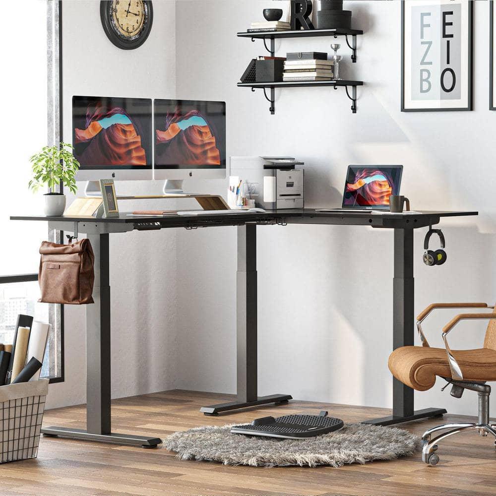 FEZIBO L-shaped standing desk review